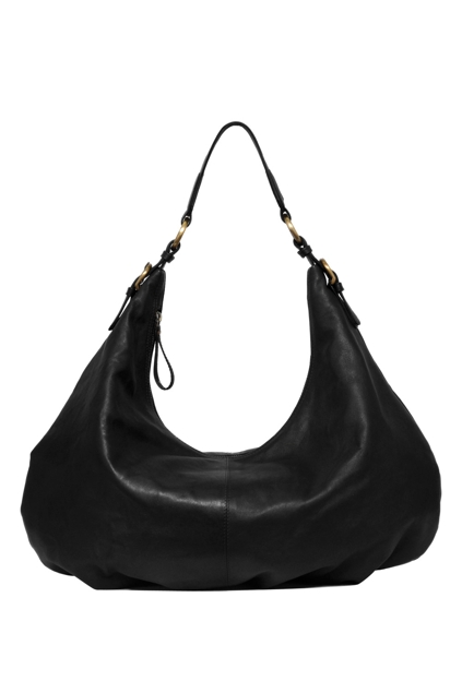 Manzoni Leather Shoulder Slouch Bag - Womens Handbags - For ...