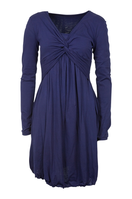 Mesop dress with twist front maxi