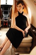 Ultimate black dress  x halter  small2
