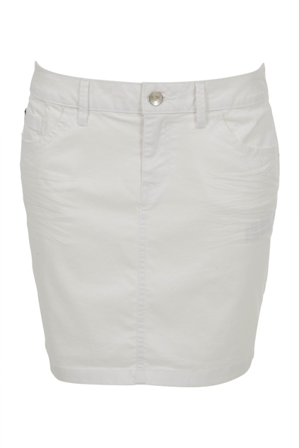 Esprit clothing Stretch Denim Skirt - Womens Short Skirts ...