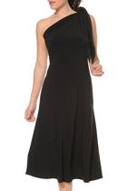Ultimate black dress  one shoulder  small2
