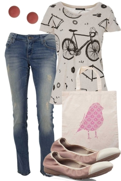 the bike ride outfit includes zensu living doll and mavi. Black Bedroom Furniture Sets. Home Design Ideas