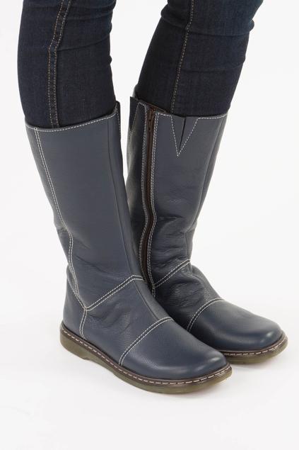 Dr Martens Kim Zip Calf Boot - Womens Boots at Birdsnest Women\'s ...