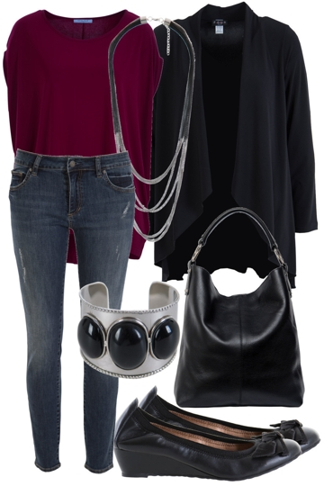 Casual Workplace Outfit Includes Manzoni Zensu And