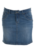 Moonlight Kisses Denim Skirt