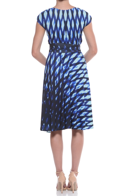 Sacha Drake Elsie Wrap Dress Womens Knee Length Dresses