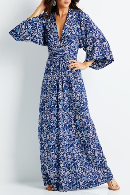 Long sleeve maxi dresses online australia