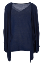 Melbourne cardi navy front small2