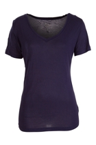 Manhattan v neck tee navy front small2