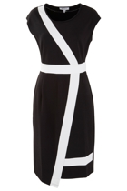 The Contrast Asymmetrical Dress