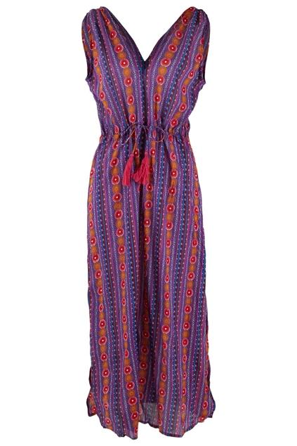 Naudic folly maxi dress