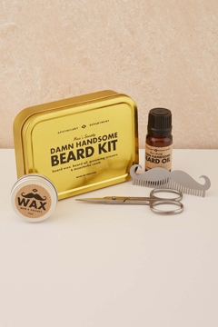 pigeonhole beard grooming kit mens lifestyle birdsnest online store. Black Bedroom Furniture Sets. Home Design Ideas