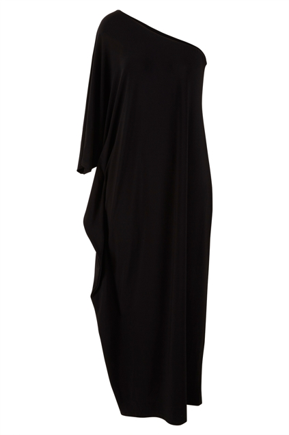 The Goddess One Shoulder Maxi Dress
