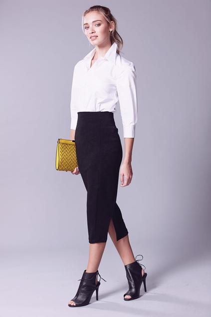 sacha pencil skirt womens skirts at birdsnest