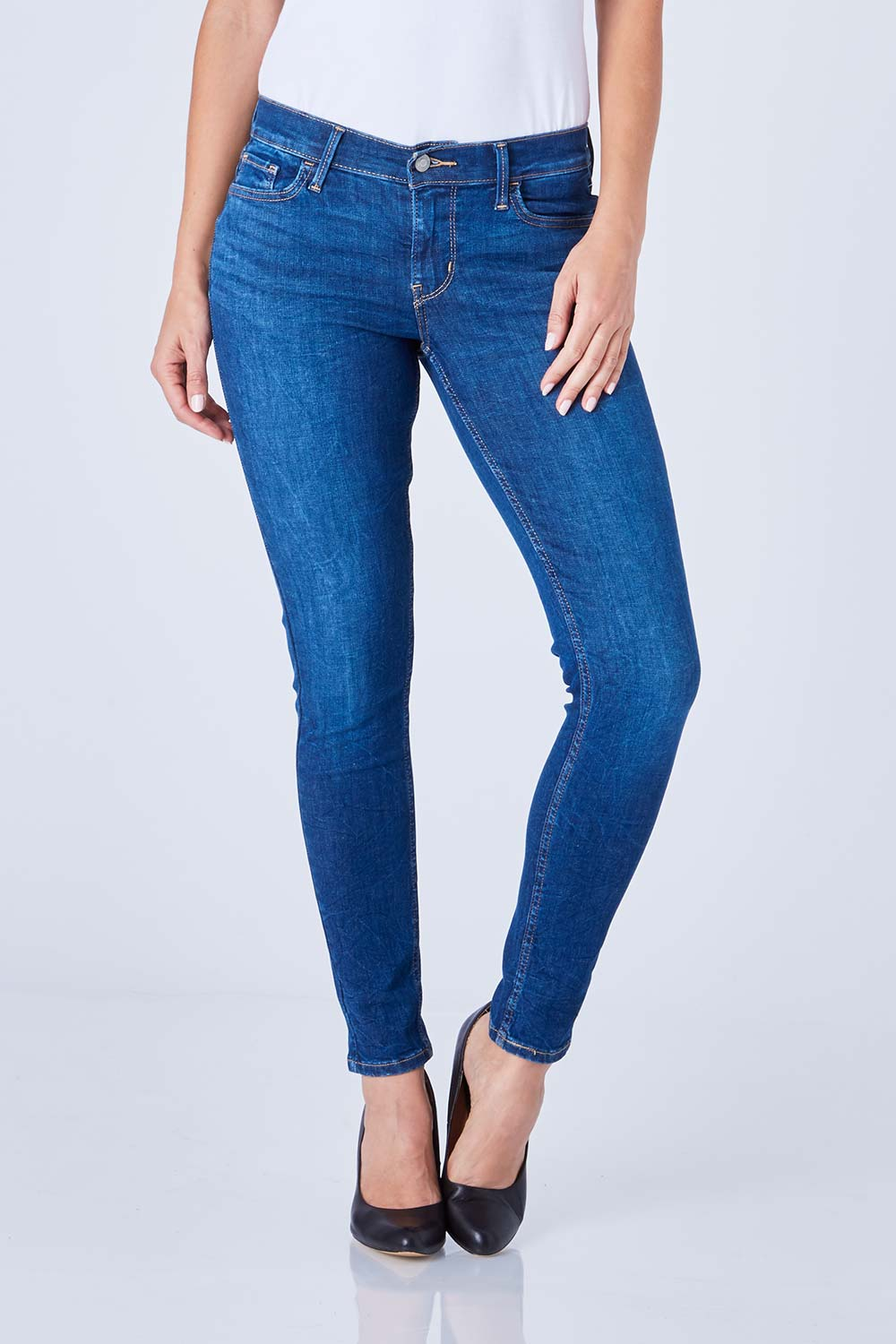 Levis Ladies Jeans Innovation Super Skinny Jean - Womens Skinny Jeans at  Birdsnest Women's Clothing
