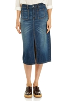 Jww165042 midi denim pkt skirt  denim mid wash  1  small2