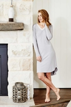 Angelic night dress grey rt small2