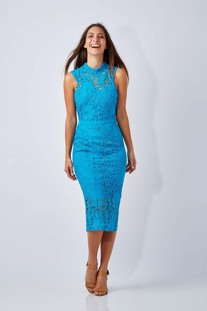 Cooper st black lace dress