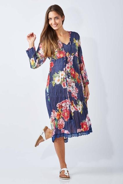 Ruby Yaya Tealily Dress Womens Knee Length Dresses