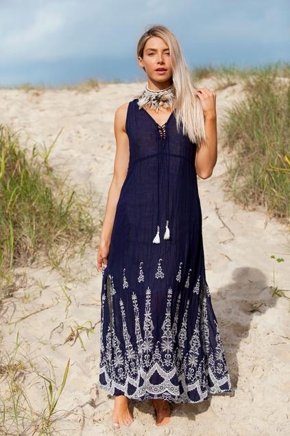 Ruby Yaya Fleur Spring Maxi Dress Womens Maxi Dresses