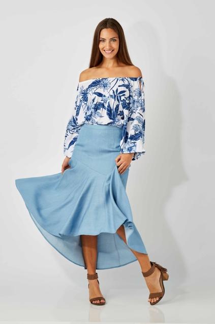 Wish fashion label clothing Pacific Skirt - Womens Knee Length Skirts -  Birdsnest Online