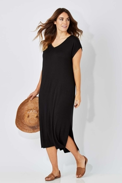 The Mid Length Tee Dress