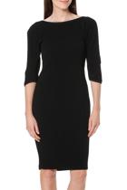 Jess split sleeve dress  black  front1 small2