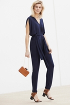 Solange jumpsuit  navy  small2