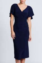 Darling midnight 2 australian designer sleeved dresses size 18 leina broughton small2