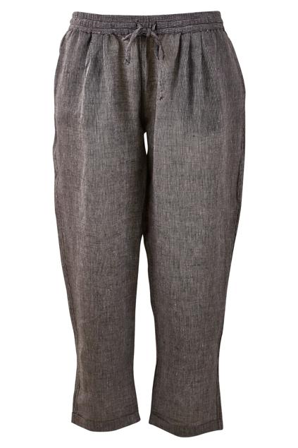 The Pinstripe Cotton Linen Pant