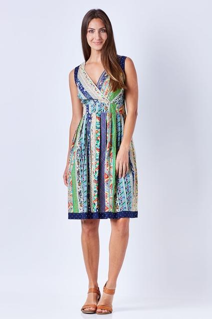 Rasaleela Paloma 50 S Crossover Dress Womens Knee Length