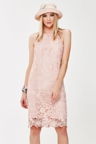 Lace time sleeveless nights   pink 4 small2