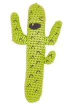 Weegoamigo  crochet rattle  cactus wee cro rattle small2