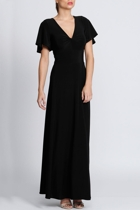 Mica black 2 australian designer sleeved dresses size 18 leina broughton small2