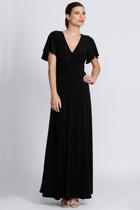 Mica black 1 australian designer sleeved dresses size 18 leina broughton small2