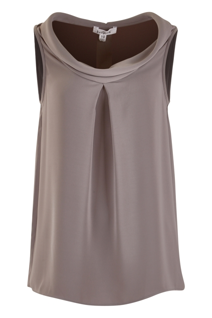 The Roll Neck Sleeveless Top