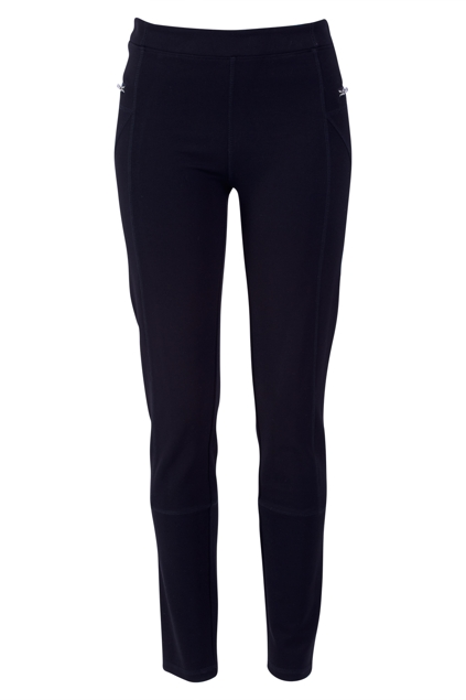 The Zip Detail Ponte Pant