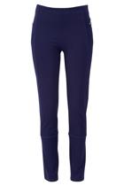 The Zip Detail Ponte Pant