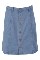True To You Denim Skirt