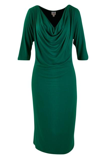 Belle Cowl Dress