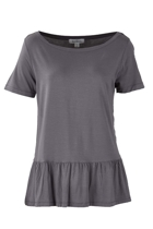 The Relaxed Peplum Tee