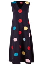 Holly A-line Dress Poppies
