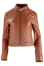 Travels With Me Leather Jacket