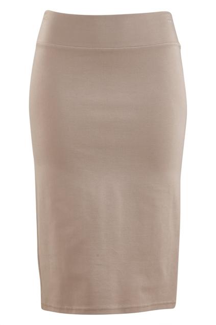The Ponte Knee Length Pencil Skirt