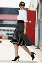Faux wrap skirt small2