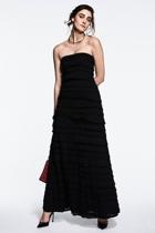 Maddison maxi ruffle dress small2