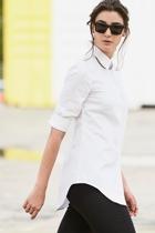 3 4 sleeve shirt black skinny pant small2