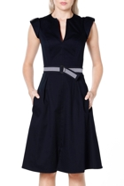 Fit and flare  navy 2 small2