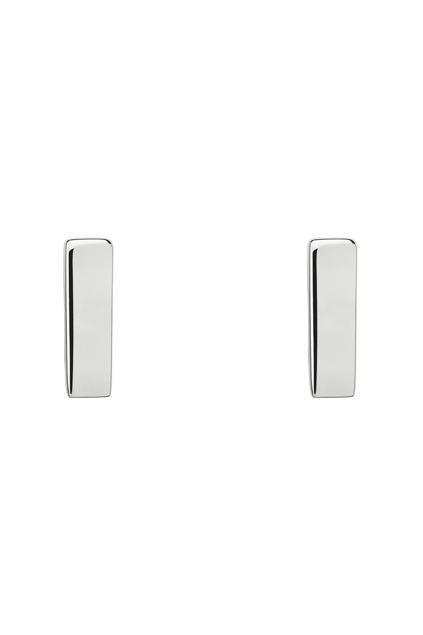 Verticality Sterling Silver Earrings
