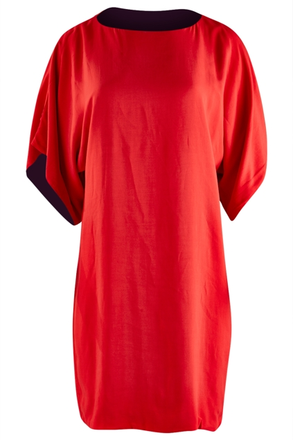 The Reversible Bell Sleeve Tunic Dress